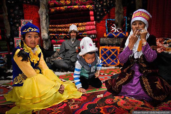 אירוח מסורתי בקירגיזסטן