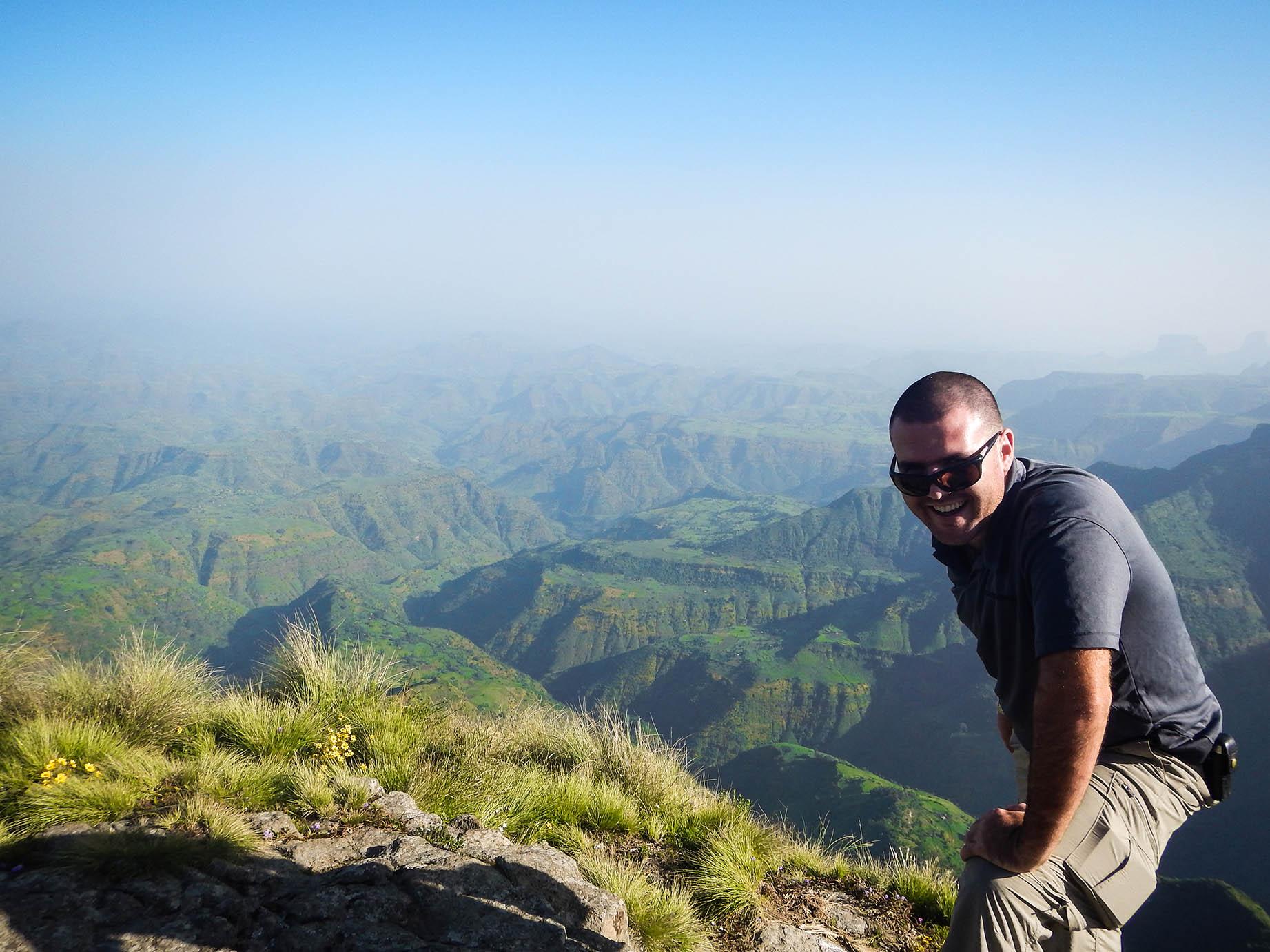 נוף הרי סימיאן