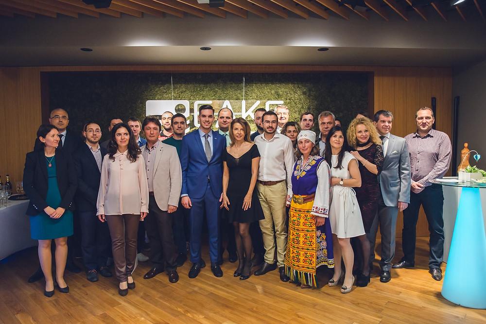 Церемонията по награждаването на победителите в първото издание на БАКБ Предизвикателство #ЦентърРинкър