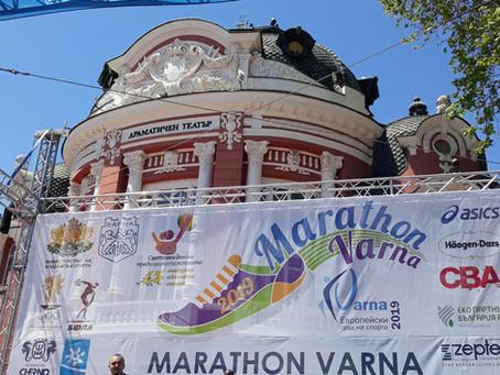Маратон Варна 2019 със zerowaste пунктове за вода
