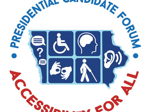 Nov. 2nd - 7 Presidential Candidates Discussing Disability