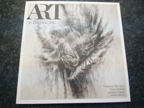 Holly Rozier featured in Brighton Arty Magazine