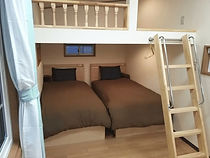 トレーラーハウス_コンフォートキャビン寝室