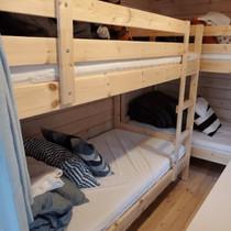 森のフィンランドログコテージ_寝室