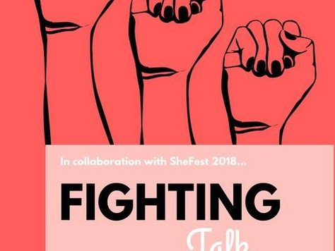 Fighting Talk Exhibition (Part of Sheffield SheFest 2018)