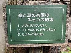 森と湖の楽園の約束