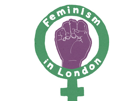 Holly Rozier shows at the Feminism in London Conference in London