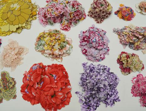'Cut Flowers #2' (detail) (2019)
