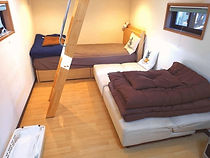 トレーラーハウス_ジャーニー寝室