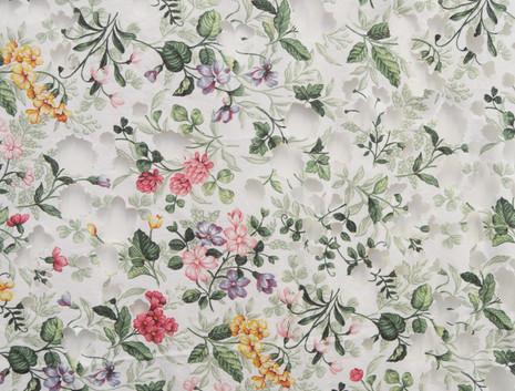 'Cut Floral Fabric' (2019)