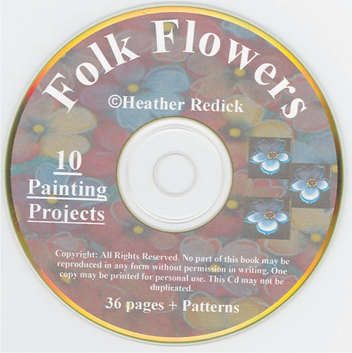 CD - Folk Flowers