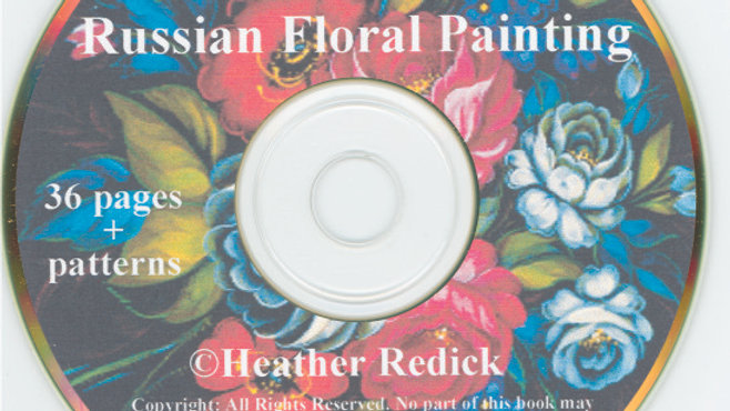 CD - Zhostovo Russian Floral Painting