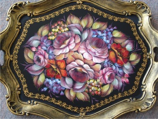 Heather Redick decorative painting