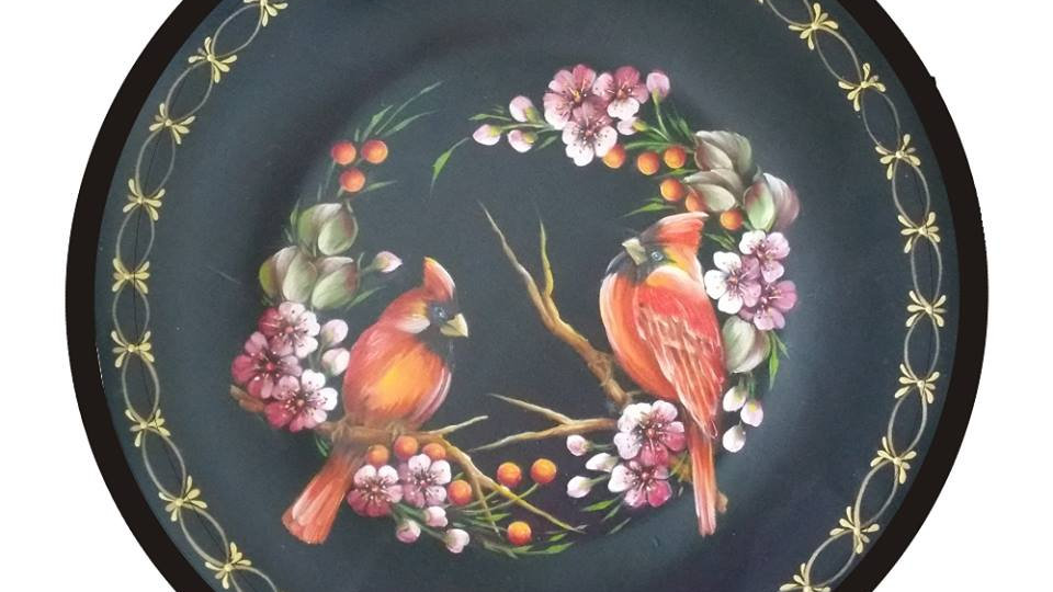 177 Birds, Berries and Blossoms