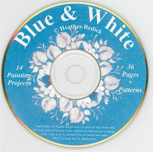 CD - Blue & White