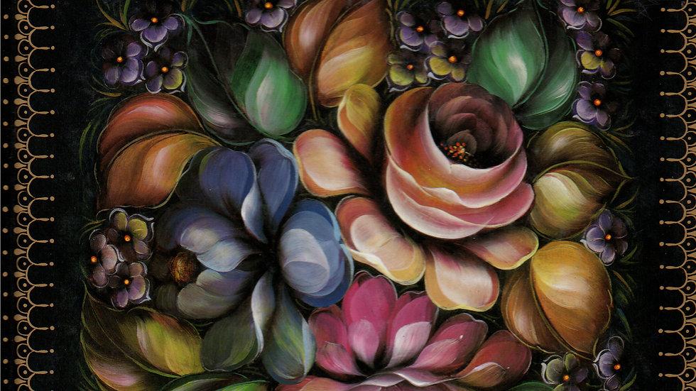 Ebook Decorative Painting Zhostove Style