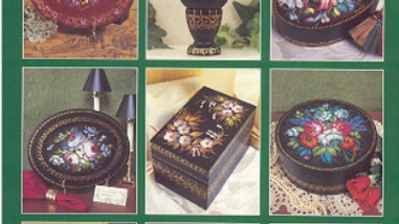 Zhostovo Russian Floral Painting