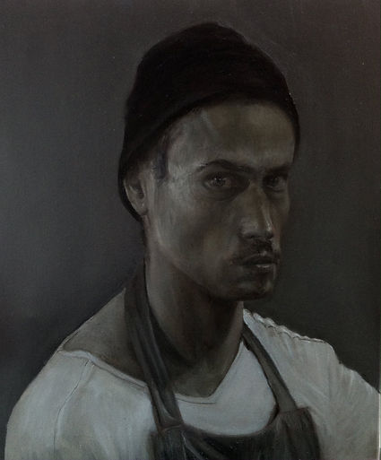 Self-grisaille-oil on canvas-July.jpg