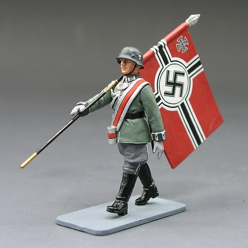 Wehrmacht Marching Flagbearer