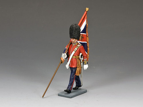 Marching Officer w/King's Colour