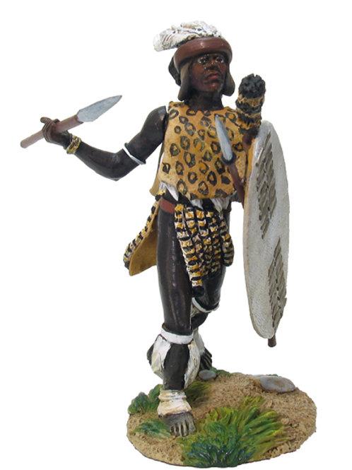20003 - OSPREY ART SERIES - Zulu uThulwana Regiment, Throwing Spear No.1