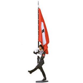LAH Goose Stepping Flag Bearer