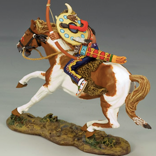 Mounted Warrior w/Bow and Arrow