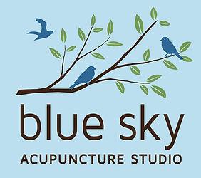 Blue Sky Acupuncture Studio Logo