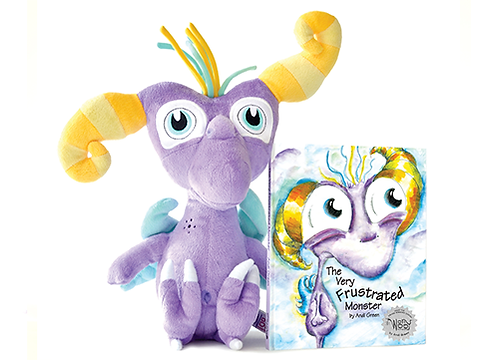 Twitch Book and Plush Set