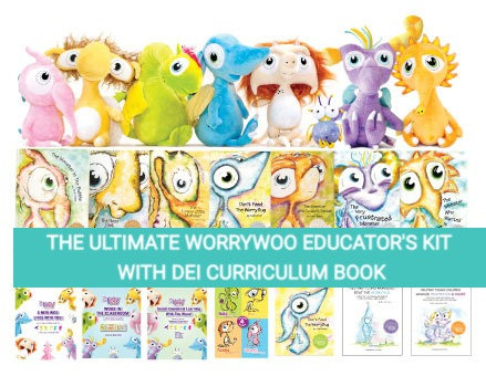 The Ultimate WorryWoo SEL Kit with DEI Curriculum Book