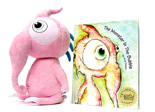 Squeek Plush and StoryBook
