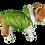 Thumbnail: Green Dog Factor Sensation Dog Vest Pet Apparel Waterproof Windproof Reve