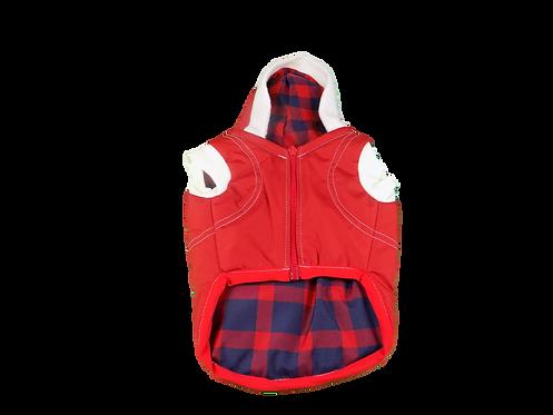Red Dog Factor Sensation Dog Vest Pet Apparel Waterproof Windproof Rev