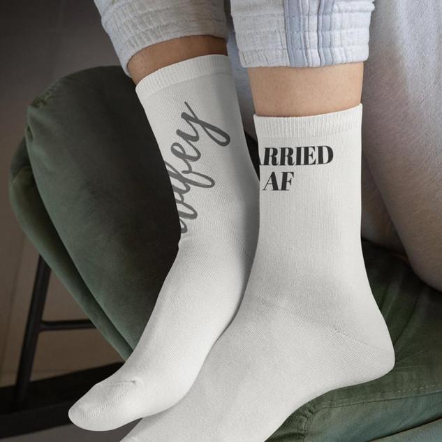 Wifey/Married AF Socks