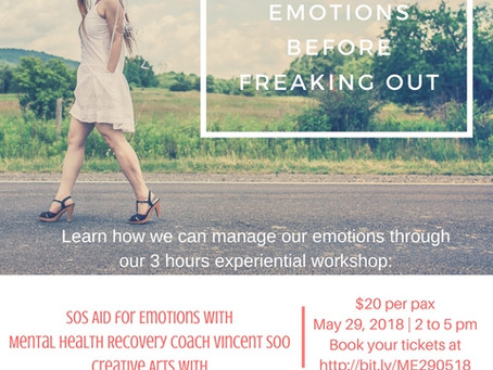 Managing Your Emotions Before Freaking Out Workshop (Public Run)