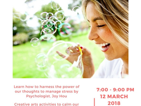 Beat Stress with Play Workshop