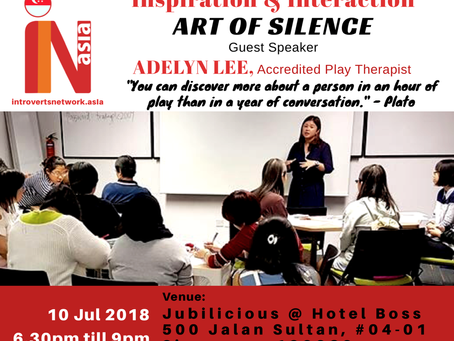 Guest Speaker with Introverts Network Asia
