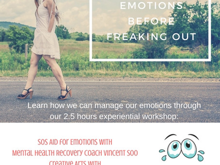 Managing Your Emotions Before Freaking Out Workshop