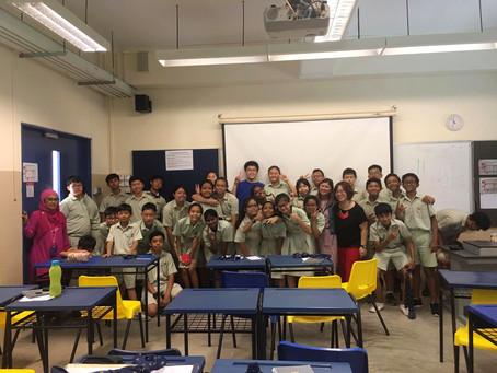 Career Talk @ Yishun Town Secondary School