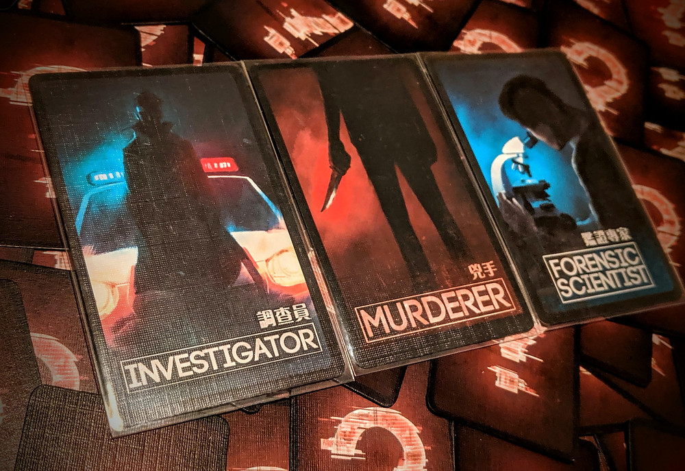 Deception Murder in Hong Kong Role Cards