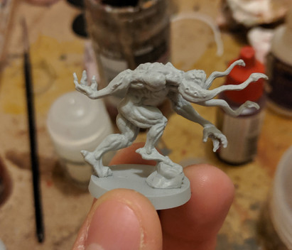 Zombicide Invader - Painting Xeno Hunters - Grey Seer