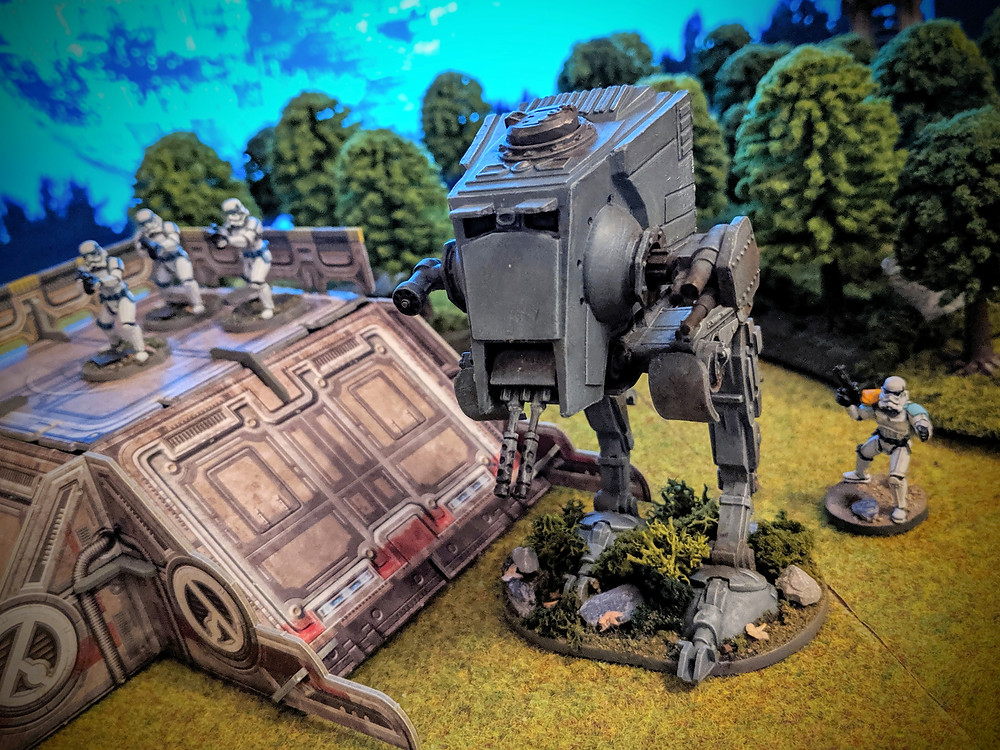 Imperial Assault - AT-ST