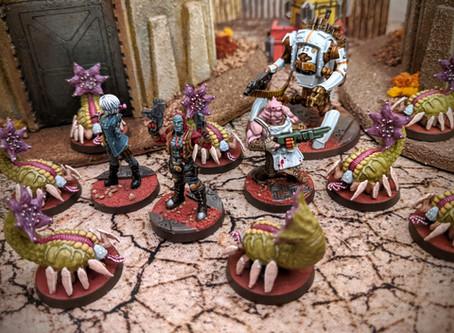 Painting Zombicide Invader: Flingers