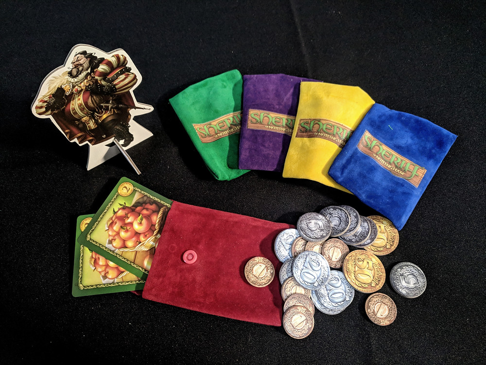 Sheriff of Nottingham, Arcane Wonders, Dice Tower Essentials