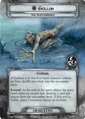 Gollum Dead Marshes