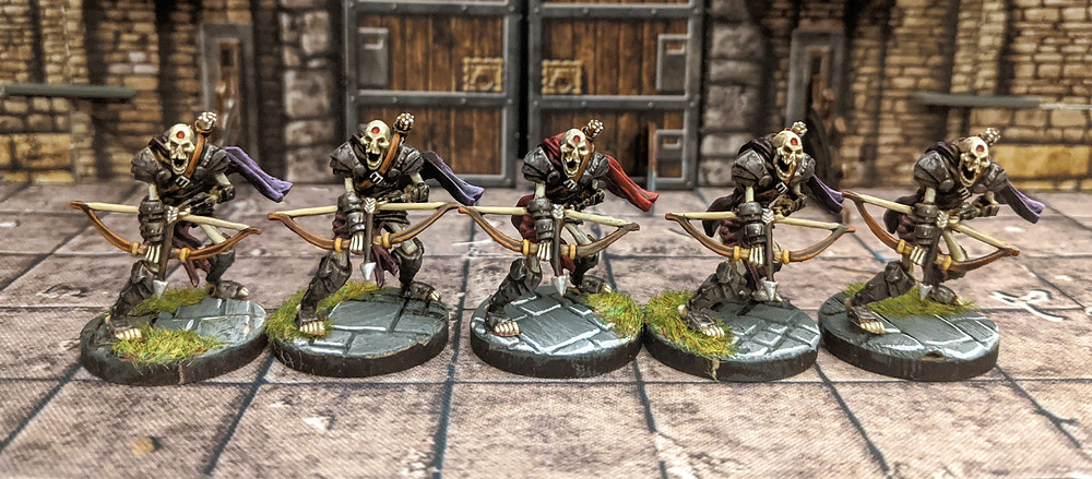 Skeleton Archers, Descent Journeys in the Dark