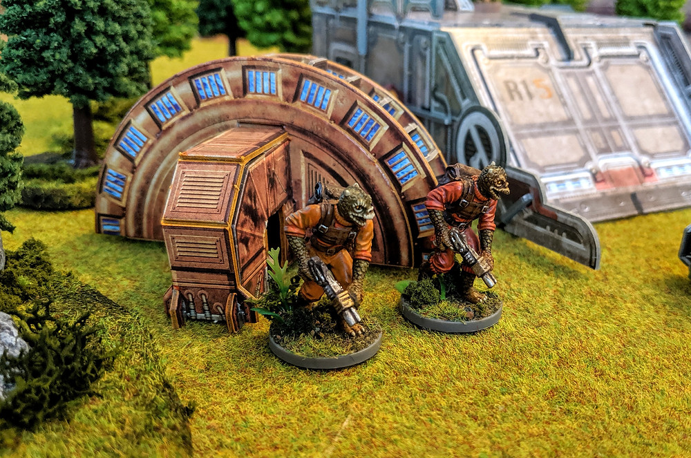 Imperial Assault - Trandoshan Hunters