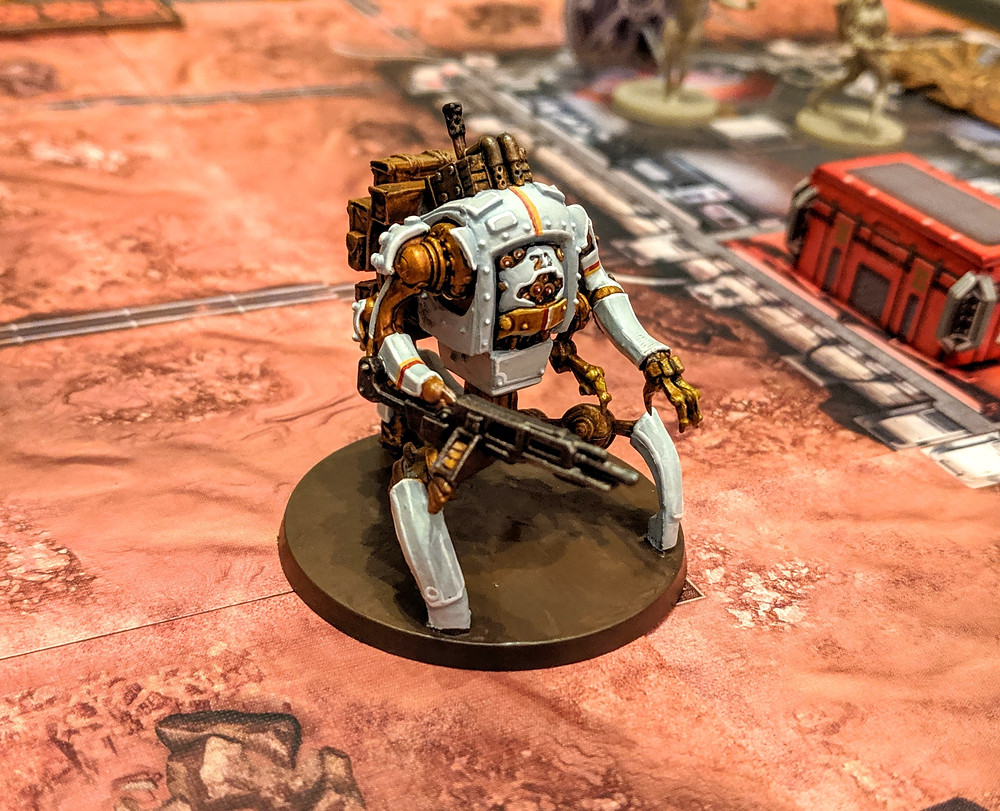 Zombicide Invader - Peacemaker Bot