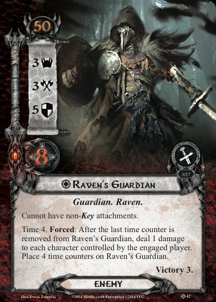 Raven Guardian, LOTR LCG