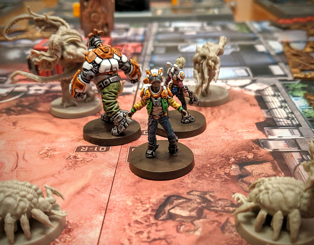 Zombicide Invader - Orphan Gang, Wizard, Jennie, Goliath